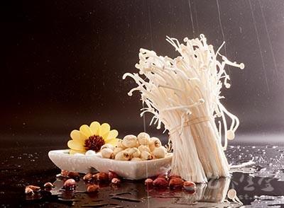 金针菇的营养价值 金针菇竟然有这些功效