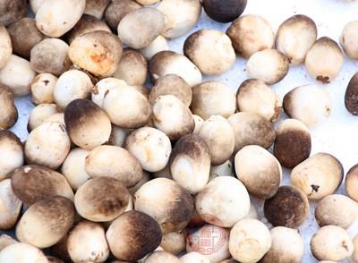 草菇含有一种有抗癌作用的异蛋白物质