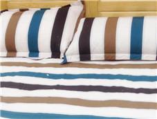 条纹图案的睡觉枕头