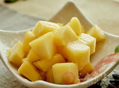 芒果含有大量的维生素A,因此具有防癌、抗癌的作用