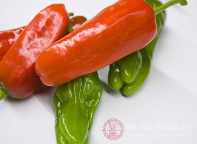 辣椒含有辣椒素