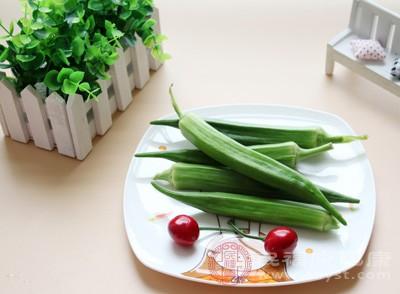 黄秋葵为低能量食物,合理搭配可作为减肥食物(如烤秋葵干)