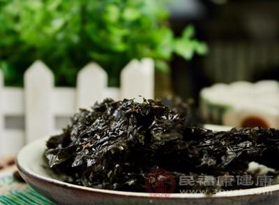 常吃紫菜对于预防甲状腺肿大效果很好
