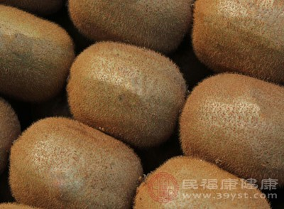 猕猴桃含有非常优异的食用纤维源