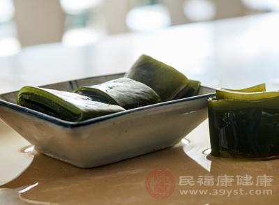 海带玉米须治高血压