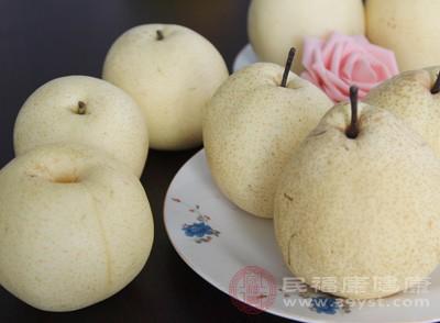 梨子的功效与作用 食用梨子应该这样处理