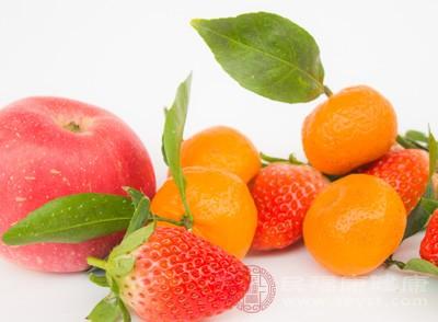 多饮水多吃蔬菜以及水果