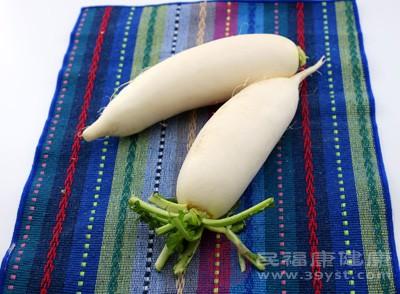 白萝卜的功效 白萝卜怎么做好吃