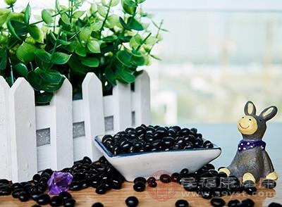 吃黑豆可以补充脂肪酸,促进人体的胆固醇代谢,清理血管