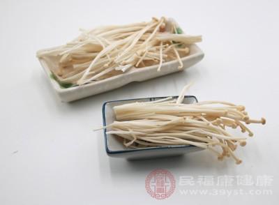 金针菇中提取出的朴菇素