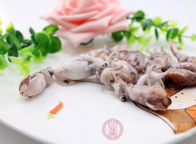 鱿鱼的营养价值 女人吃它具有五大好处