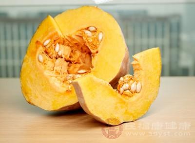 南瓜中的果胶可以干扰其他营养成分的吸收