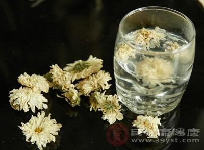 菊花具有疏凤清热、解毒明目的作用