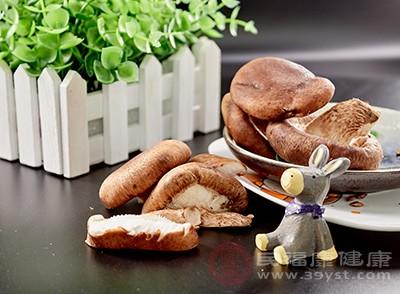 香菇中含有一种活性物质叫做香菇多糖