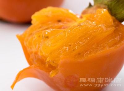 柿子的功效与作用 柿子不能与这些食物同吃