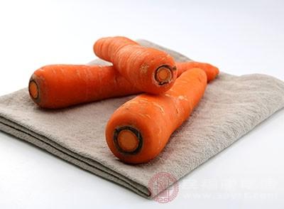 胡萝卜是具有健脾止泻的效果