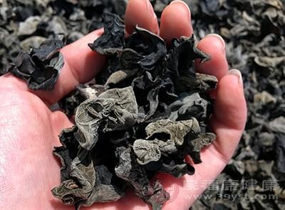 黑木耳含有丰富的植物胶原成分