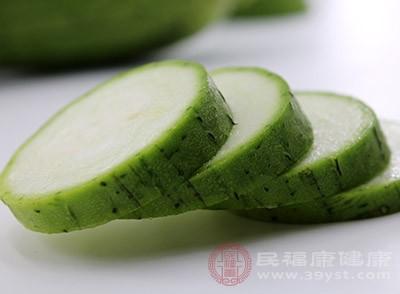 丝瓜富含多种人体所需的营养成分