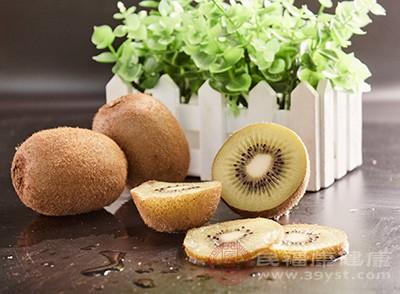 猕猴桃当中含有大量的膳食纤维素