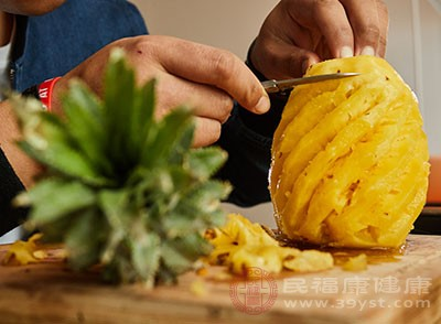 菠萝有着抗炎的特点