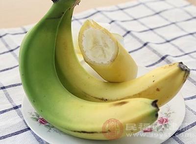 香蕉可以促进排便