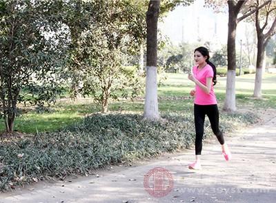 积极、合理的运动,可促进血液循环、控制身材