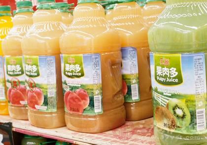 果汁饮料并非真果汁 有无饮料二字差别大