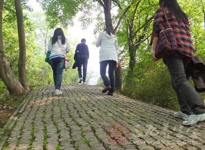 春暖花开之际,散步是一种值得推广的养生保健方法