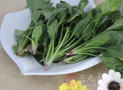菠菜含有的微量元素镁