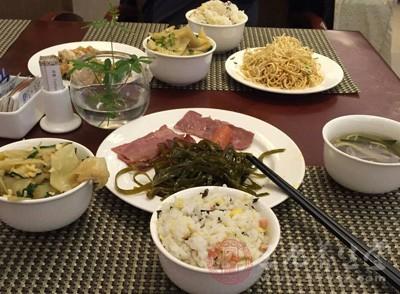 蔬菜晚餐减肥食谱图片