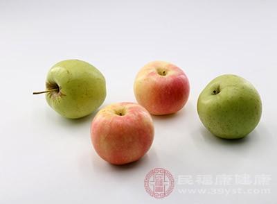 苹果属于刺激性比较小的一种水果