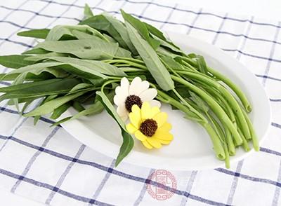 空心菜中含有很多的營養物質