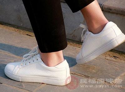 脚掌是一个多汗的环境
