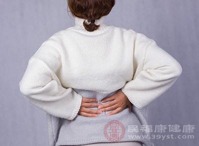 产后受风、湿、寒的侵袭,导致脊椎长骨刺而诱发腰痛
