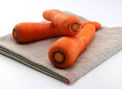 胡萝卜的养生功效也是很不错的
