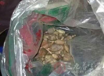 经民警现场检查,袋子里装的罂粟壳共计109粒