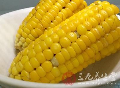 玉米中富含多种微量元素