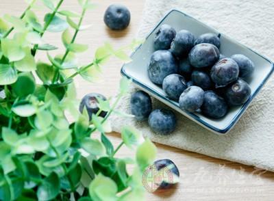 蓝莓除了含有糖分和VC外,还含有富含VE、VA、VB、蛋白质