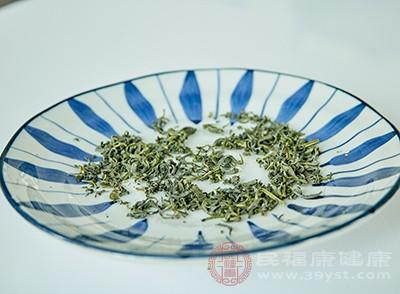 绿茶中含有生物活性化合物