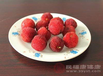 杨梅中含有丰富的钾元素