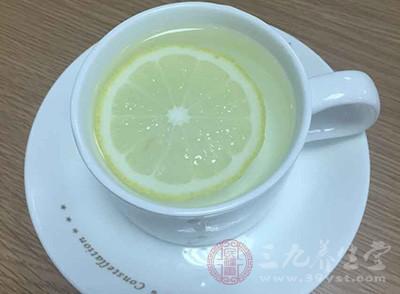 柠檬水美白