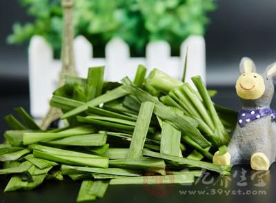 韭菜中富含丰富的维生素A