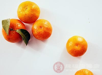 每天吃一个橘子可以起到防癌的作用