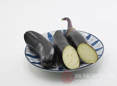 紫茄的皮中含有丰富的维生素B