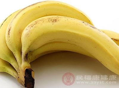 香蕉中的鉀元素有助于降低血壓