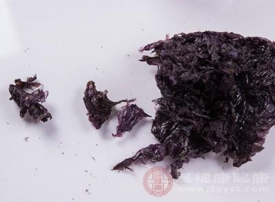 紫菜的好处 吃这种水产能帮助降低胆固醇