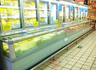 相对来说,超市食品更新快