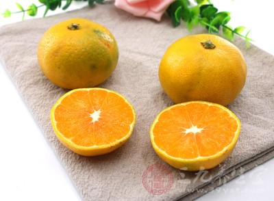 柑橘也是最佳的寒露养生食物