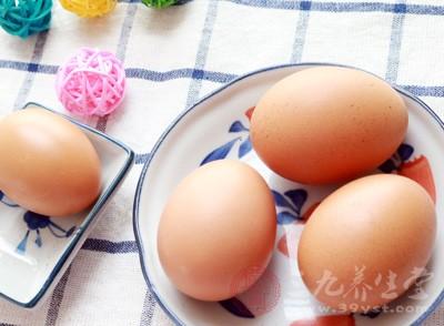 鸡蛋是一种蛋白质含量很高的食物