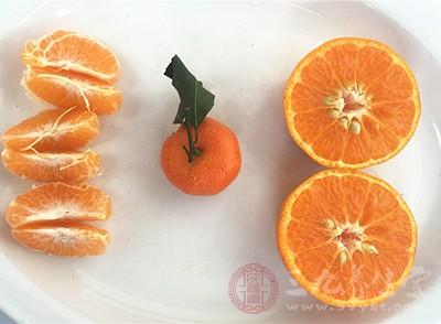 橙子也是一种不错的选择